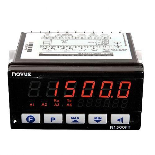 Indicador Microprocessado de Vazão N1500-FT Novus