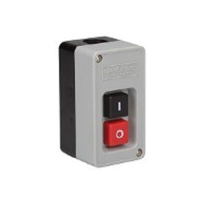 Interruptor de Tecla / Chave Liga-Desliga Tripolar 20A CS102 Preto/Vermelho Margirius