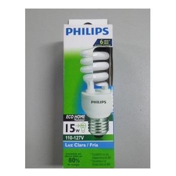 Lâmpada Compacta 15w x 127v Espiral Philips