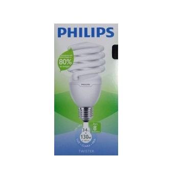Lâmpada Compacta 34w X 127v Espiral Philips