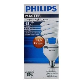Lâmpada Compacta 45w X 127v Espiral Philips