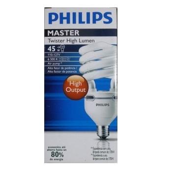 Lâmpada Compacta 65w X 127v Espiral Philips