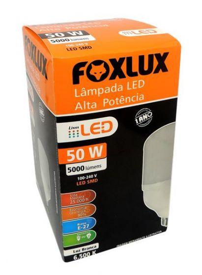 Lâmpada de Led 50w E-27 6500k FoxLux