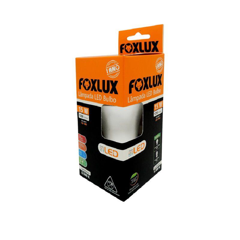 Lampada Led 15W A60 6500K FoxLux