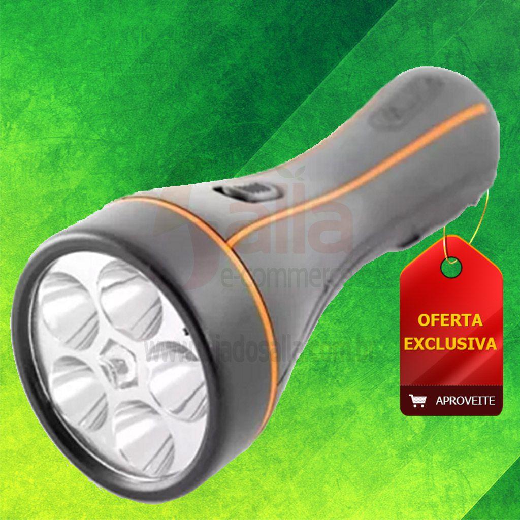 Lanterna Recarregável 5 Leds 4406 FoxLux