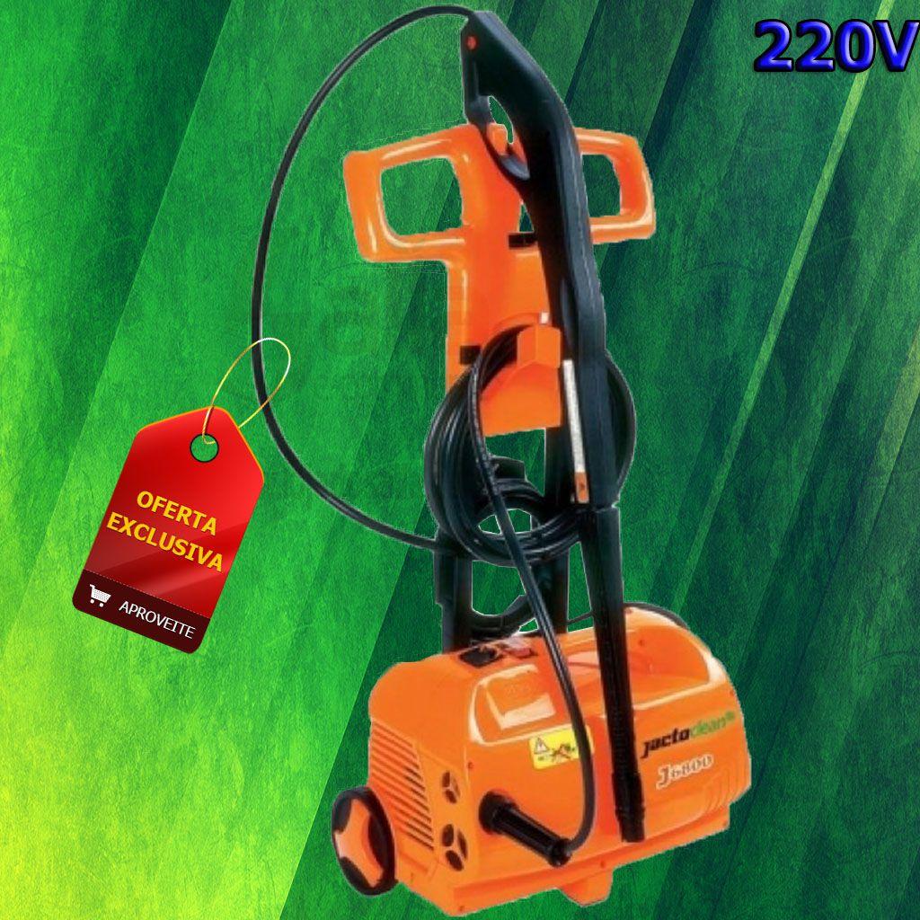 Lavadora Alta Pressão Jactoclean Stop Total 1900w 220v J6800 1300 libras