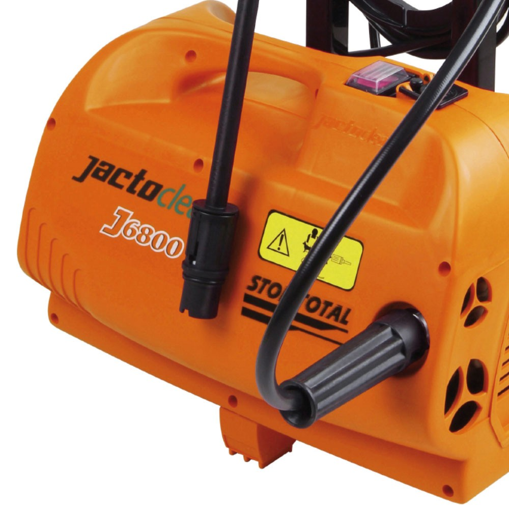 Lavadora de Alta Pressão Residencial J6800 1.650W 127v Stop Total JactoClean