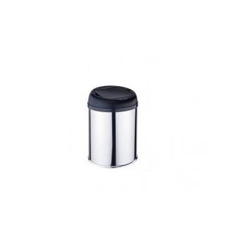 Lixeira Redonda Inox Com Sensor 12L Prat-K