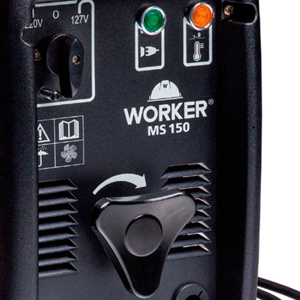 Máquina de Solda 150A Worker 127v / 220v MS150