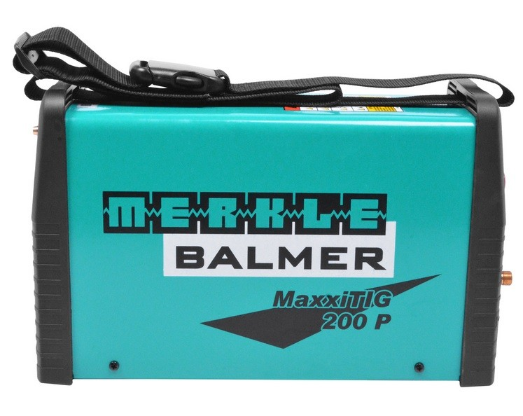 Máquina Solda Inversora Tig Eletrodo DC/MMA MaxxiTig 200p 5200A 220v MF Balmer