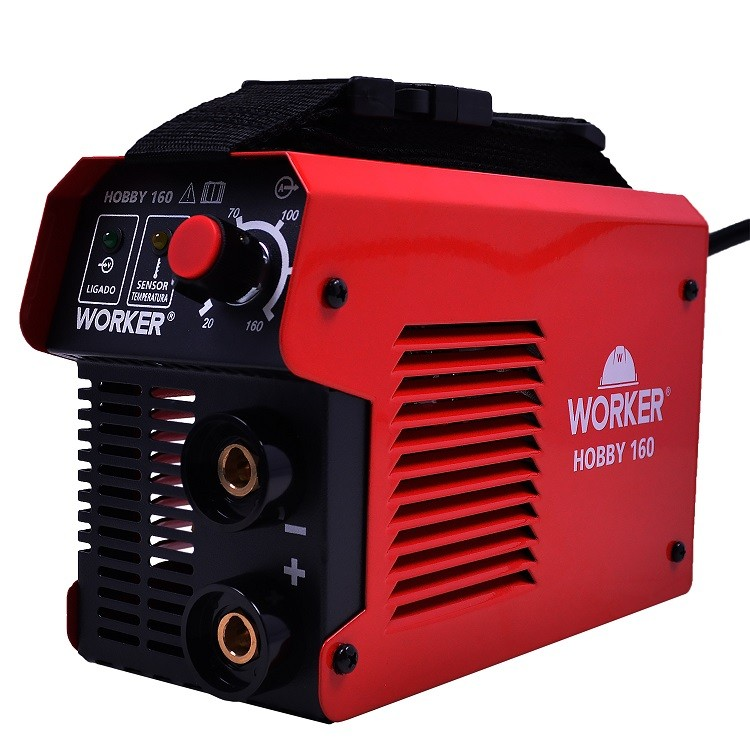 Máquina de Solda Fonte Inversora Eletrodo ARC 160A 220v Worker