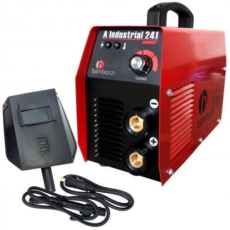 Máquina de Solda Fonte Inversora Eletrodo Bivolt Bambozzi A Industrial 241 200a