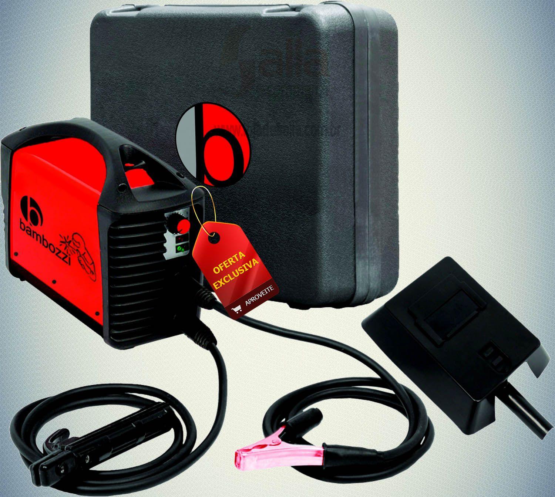 Máquina de Solda Fonte Inversora Eletrodo Bivolt Bambozzi Wmi161ed c/Maleta