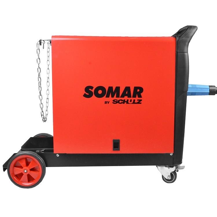 Máquina de Solda Mig Mag 300A MSM300 220v Somar by Schulz
