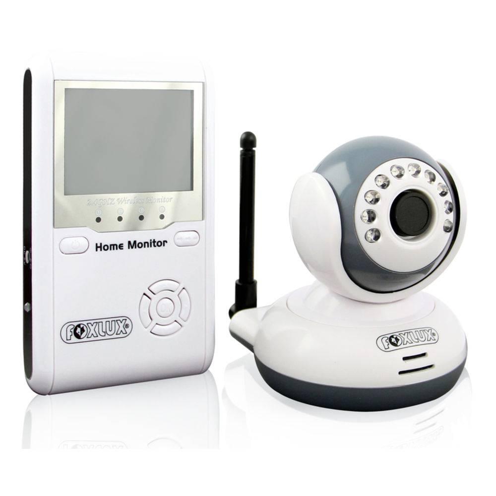 Monitor Home Colorido e Câmera de Segurança sem fio Wireless com Infravermelho FoxLux