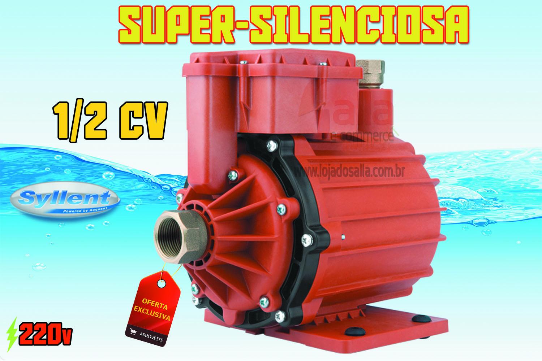 Motobomba Água Quente p/ Circulação / Pressurização 350w 220v 1/2Cv MB63E0067A/MP Syllent Aqquant