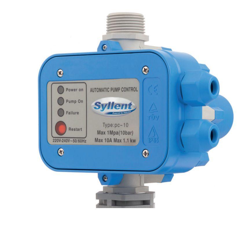 Motobomba Centrífuga Pressurizador de Água c/Pressostato Eletrônico 1/2CV 220V  Syllent MB71E0003AP/PREL