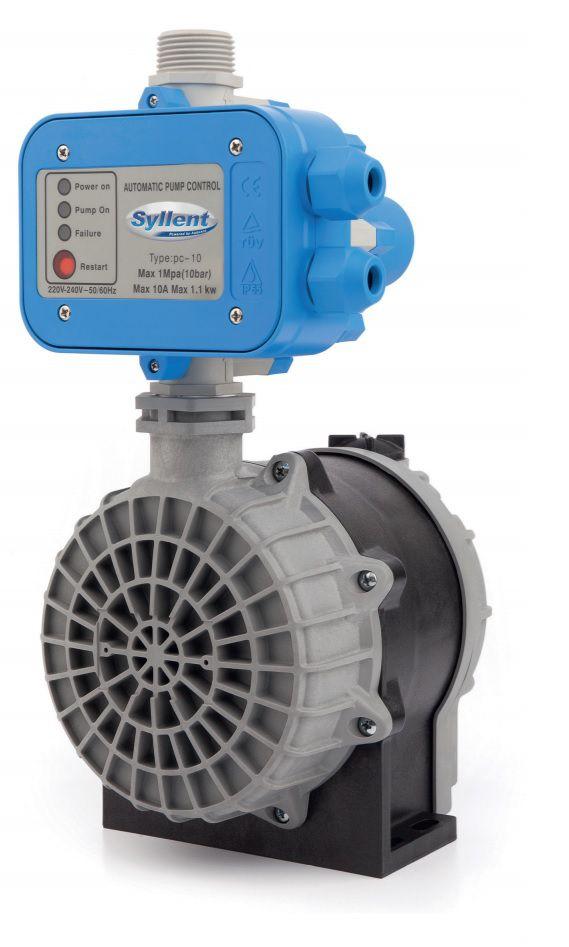 Motobomba Centrífuga Pressurizador de Água c/Pressostato Eletrônico 1/3CV 220V  Syllent MB71E0002AP/PREL