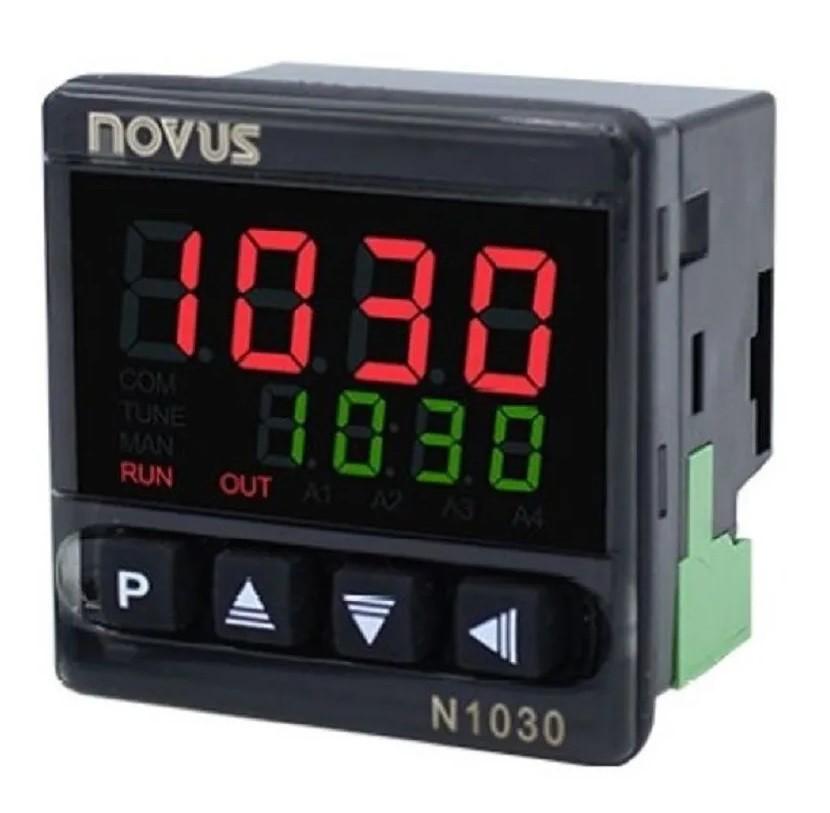 NOVUS - CONTROLADOR TEMP. N1030 - RR 24V