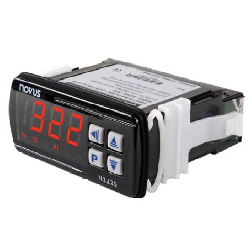 NOVUS - CONTROLADOR TEMP. N322S NTC