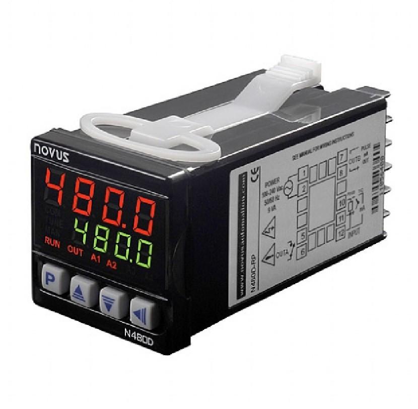 NOVUS - CONTROLADOR TEMP. N480D-RRA - USB ALIM. 24VV