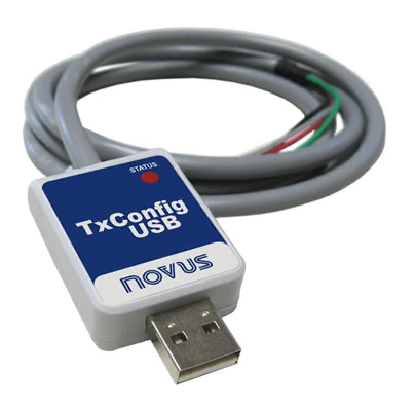 NOVUS - TX CONFIG USB -  INTERFACE DE CONFIGURAÇÃO