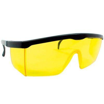 Óculos de Segurança / Proteção Titan Amarelo Proteplus