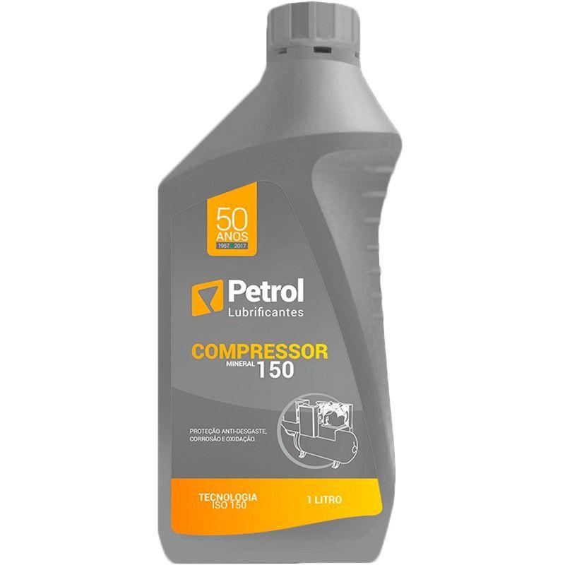 Óleo Lubrificante Mineral para Compressor 150  Petrol 1 Litro