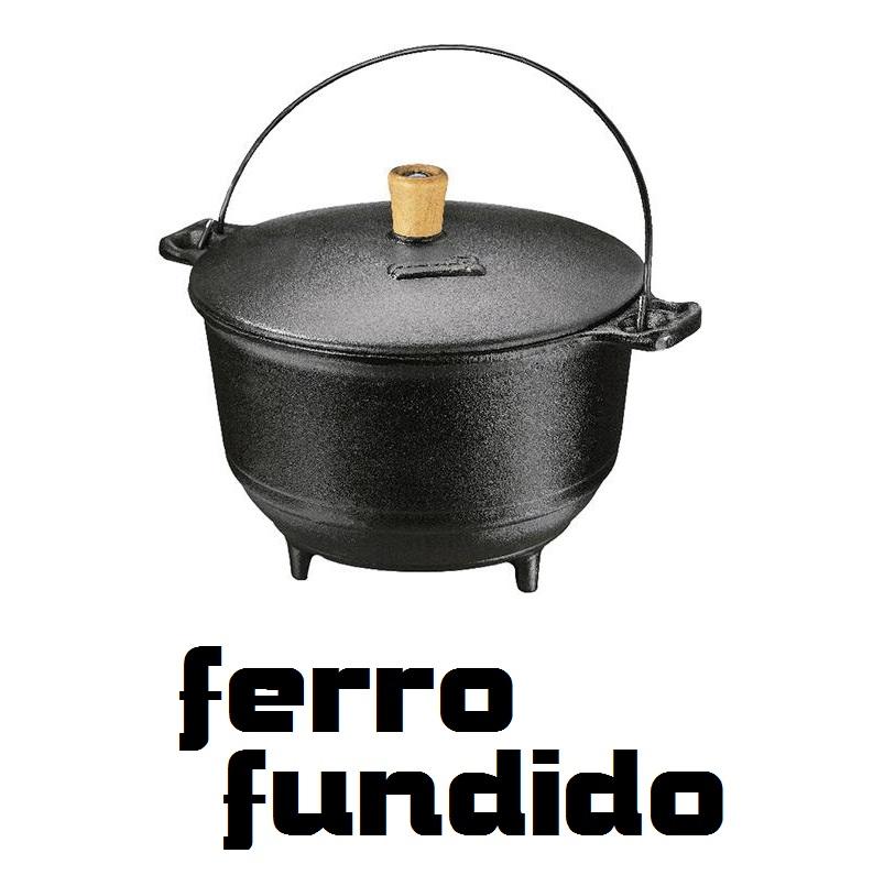 Panela Alteza 3,6 Litros Fumil Ferro Fundido