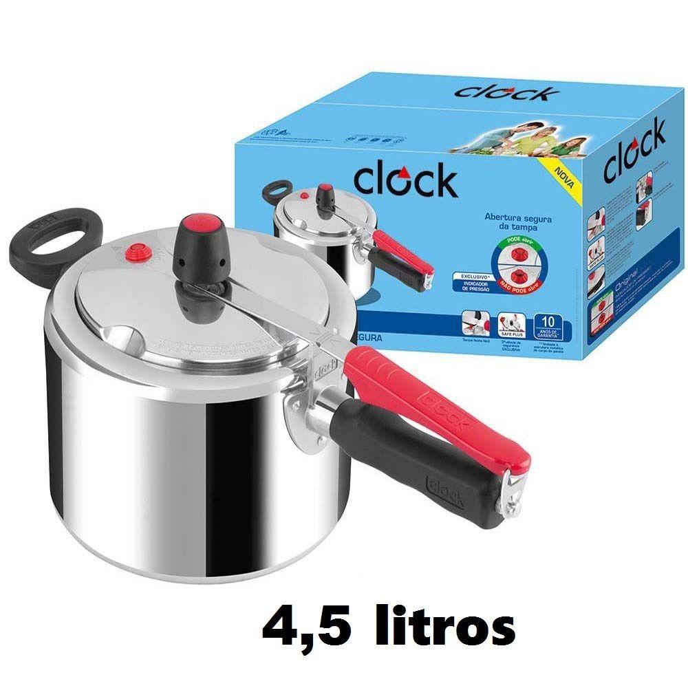 Panela de Pressão 4,5 Litros Clock
