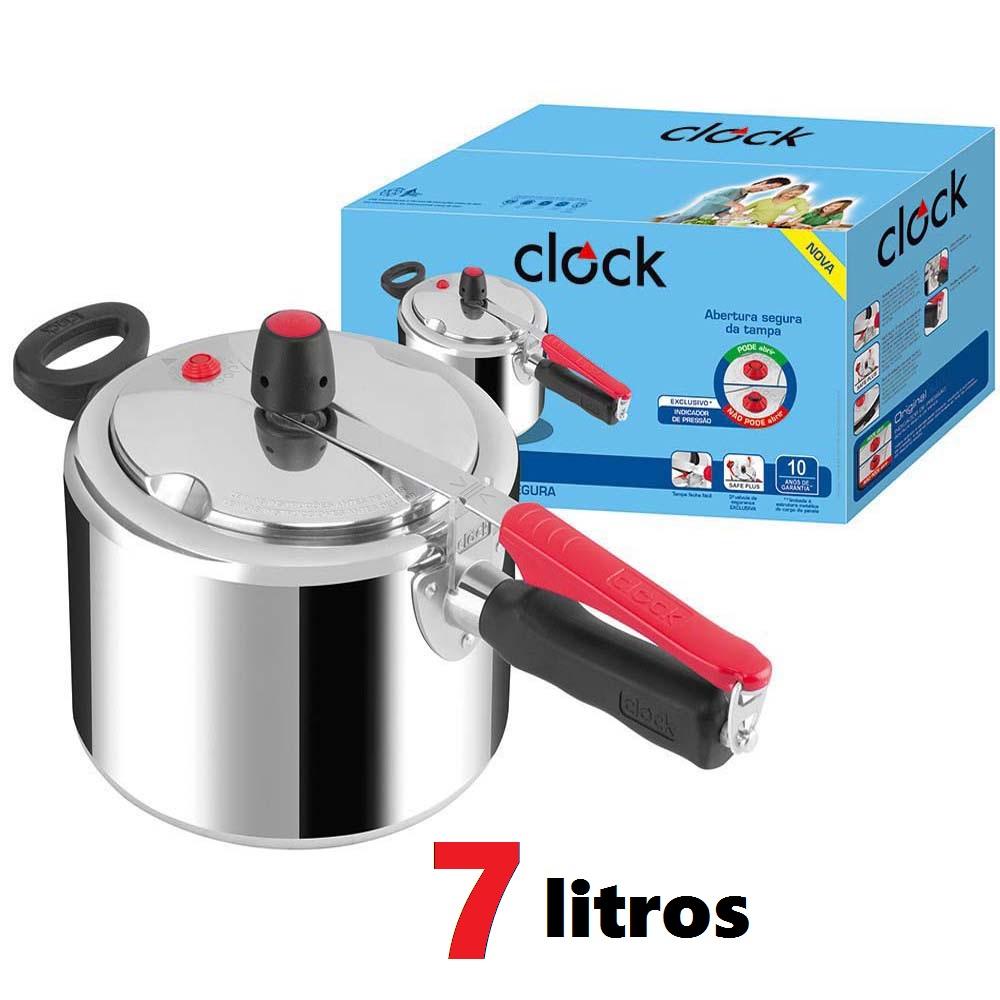 Panela de Pressão 7 Litros Clock