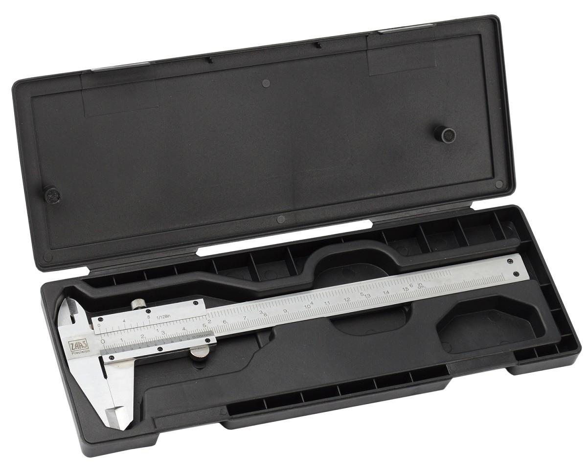 Paquímetro Analógico 150mm Aço Inox 6'' Zaas Amatools