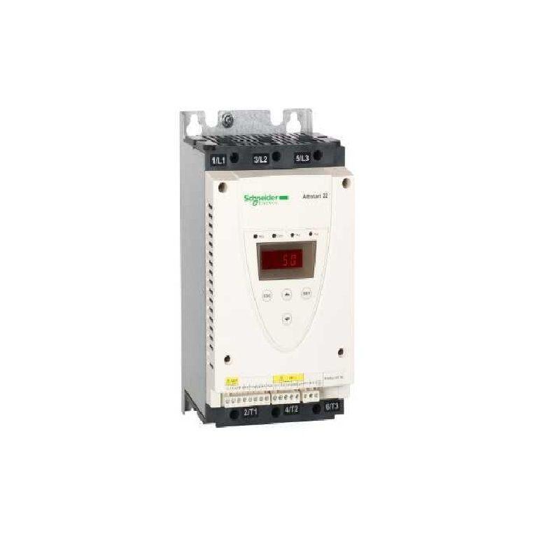 Partida Suave Soft Start 110A ATS22C11Q 230-440V Schneider