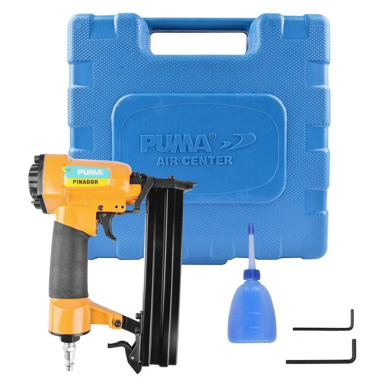 Pinador Pneumático Pino F 1mm Capacidade 100 pinos AT-3310 Puma
