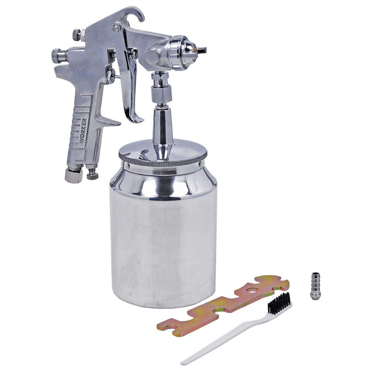 Aplicador de Pintura Mod 104299 Caneca Alumínio Worker