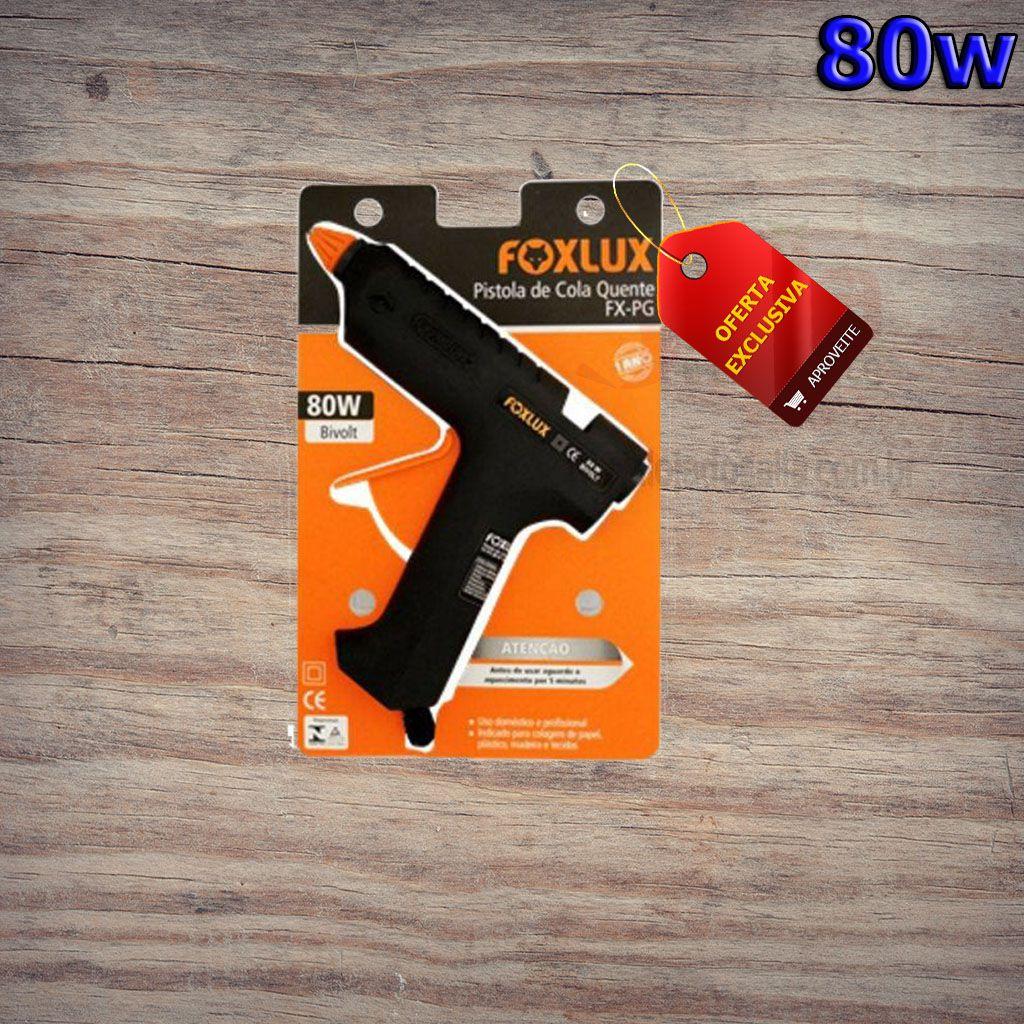 Pistola Silicone 80w FoxLux