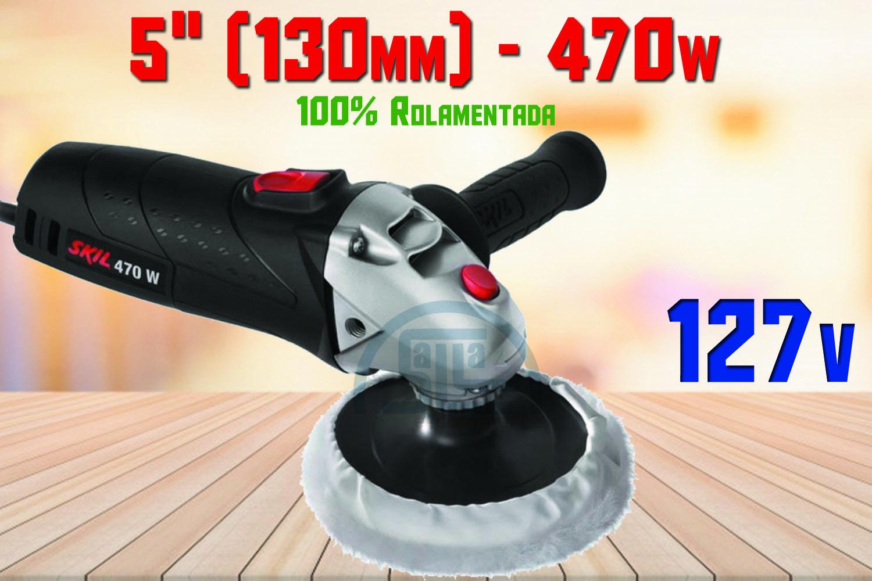 Politriz Angular Elétrica 5 Polegadas Modelo 9051 127V 470w Skil