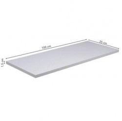 Prateleira Vangard 25 x 100 Cm Branco Prat - K