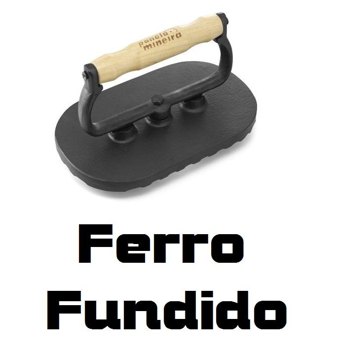 Prensador Alça Madeira 200 x 120 Fumil Ferro Fundido
