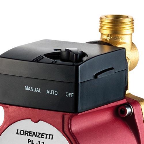 Pressurizador Pl12 (12 mca) 127v Lorenzetti