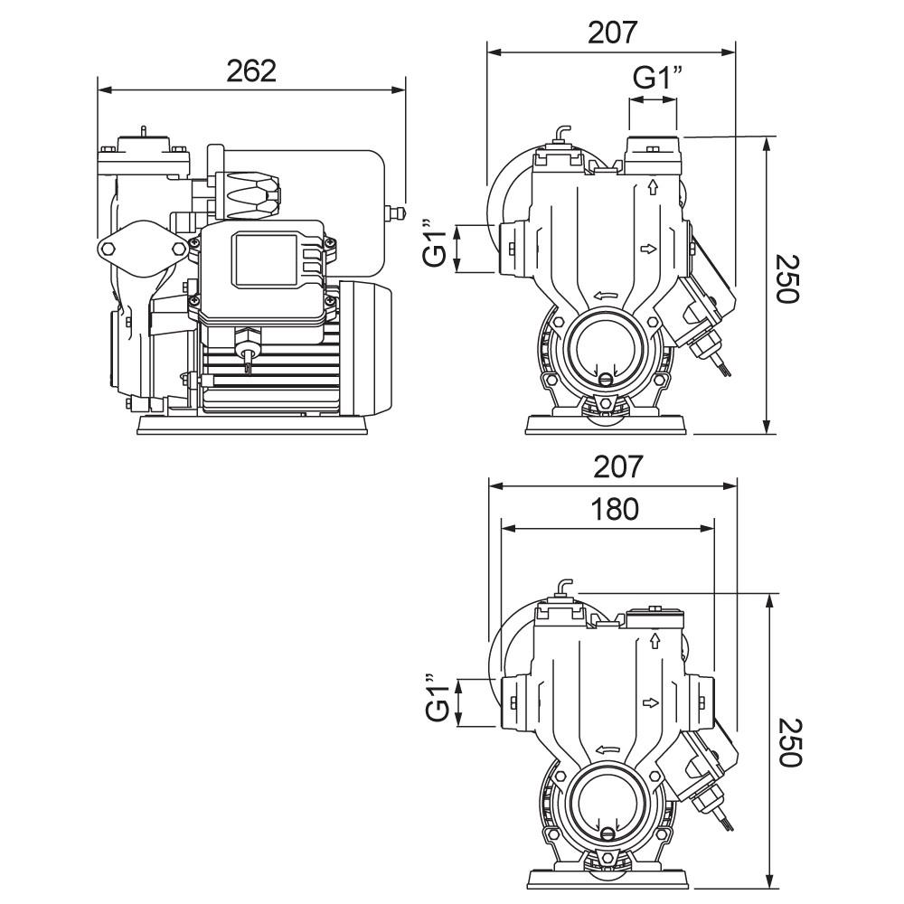 Pressurizador PL400P 127/220v Silencioso Lorenzetti