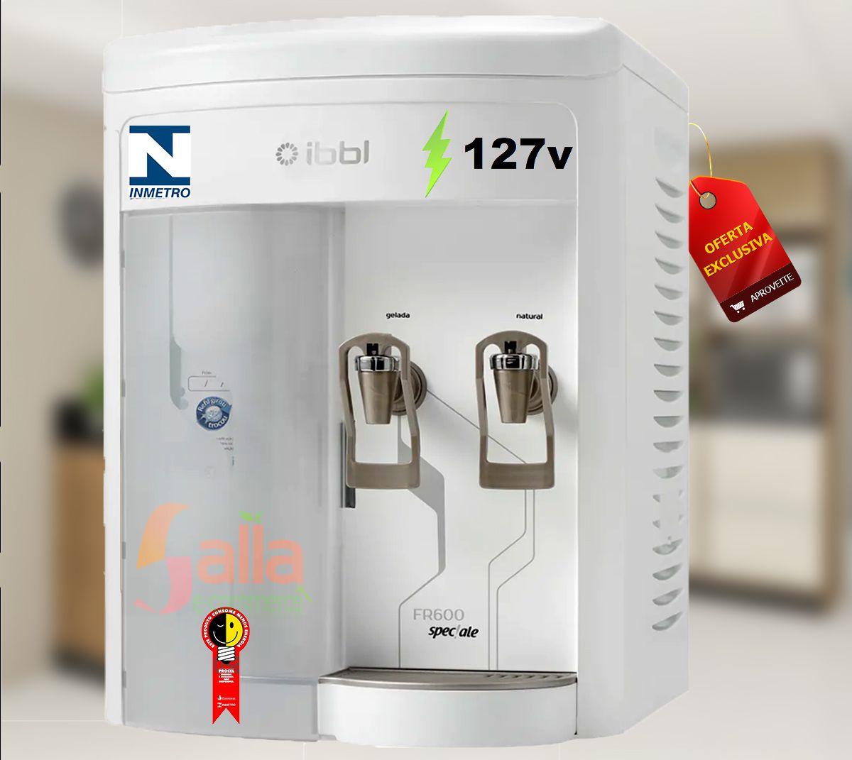 Purificador e Refrigerador de Água FR-600 Speciale Branco 127v Ibbl