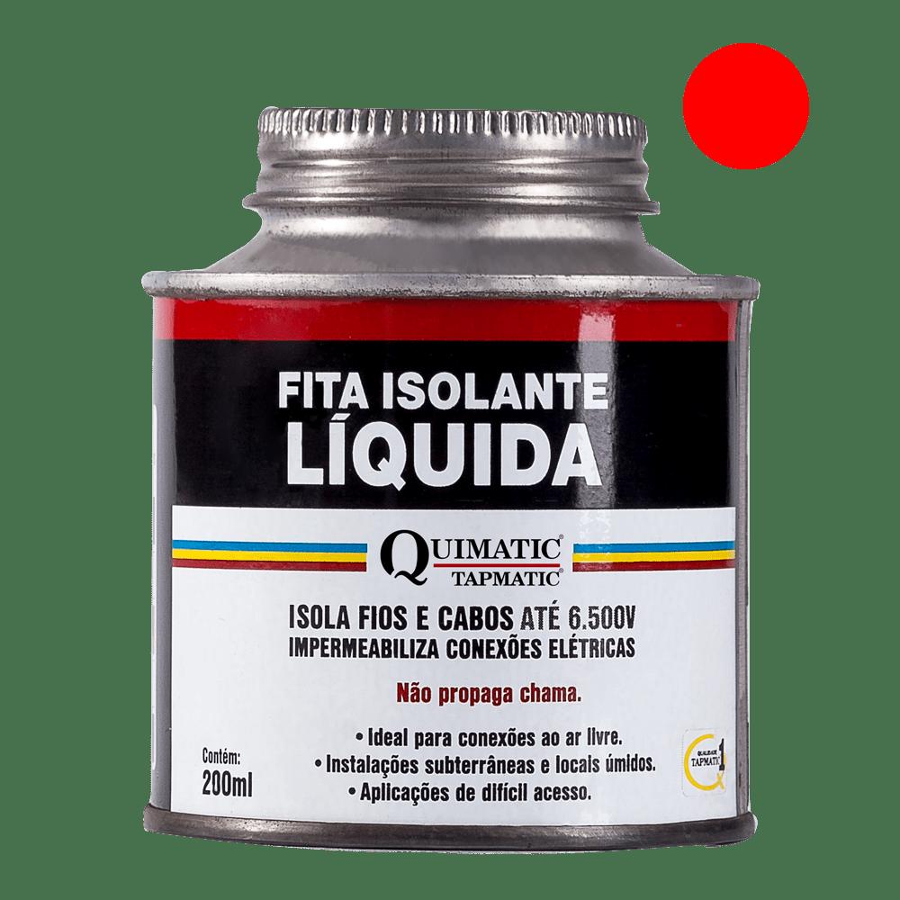 Quimatic BH1 Fita Isolante Líquida 200ml Vermelha