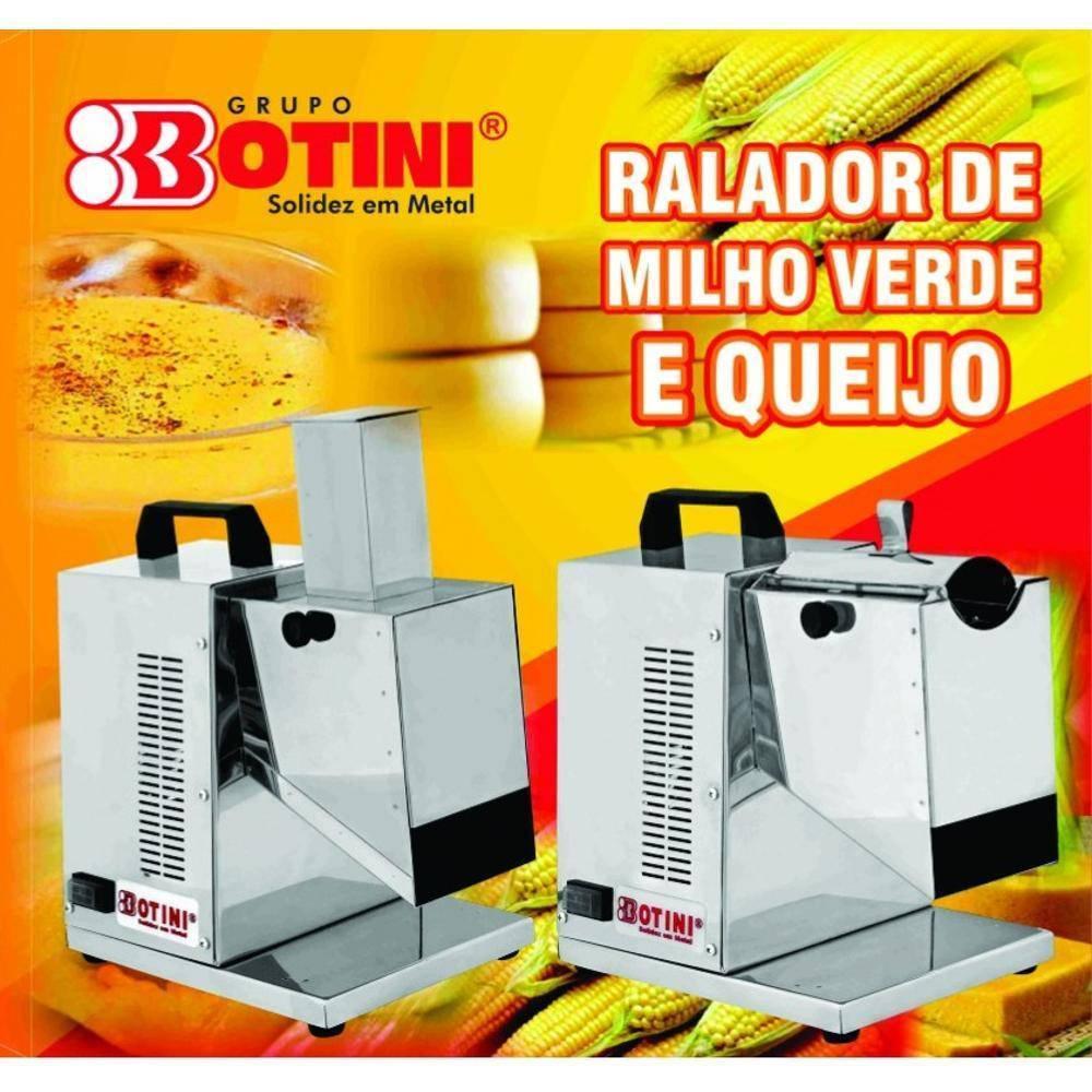 Ralador Triturador De Milho Verde e Queijo Elétrico 1/4 CV Bivolt Botini B12MQ