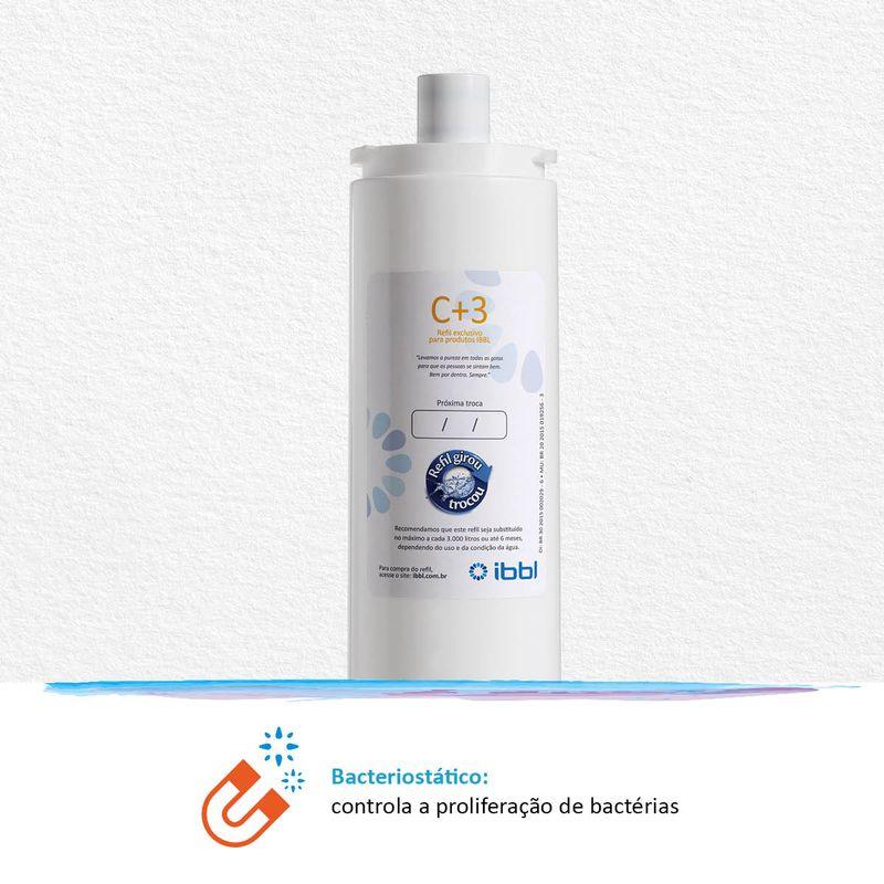 REFIL PARA PURIFICADOR DE ÁGUA C+3 IBBL ORIGINAL