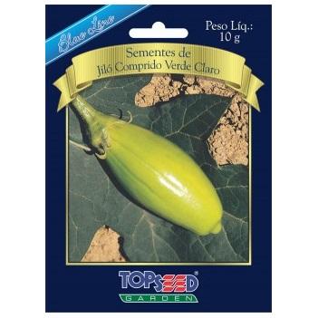 Sementes De Jiló Comprido Verde Claro 10g Topseed