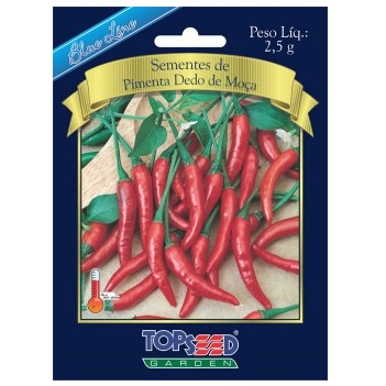 Sementes De Pimenta Dedo De Moça 2,5g Topseed