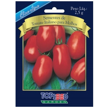 Sementes De Tomate Italiano Para Molhos 2,5g Topseed