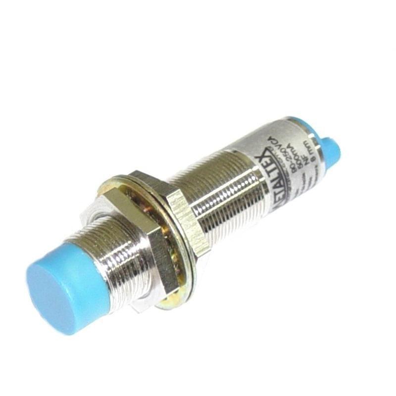 Sensor Capacitivo C18-8 DNC 18mm NPN 24V NANF Metaltex