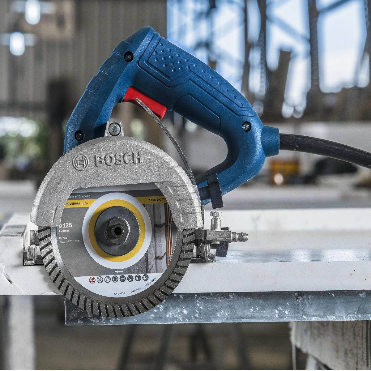 Serra Mármore Bosch Titan 1500W Disco 125mm Profissional GDC 150 - 127V